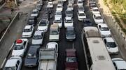 ترافیک سنگین در محورهای خروجی پایتخت