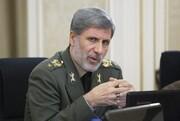 هشدار وزیر دفاع درباره هرگونه تعدی و تجاوز به خاک ایران