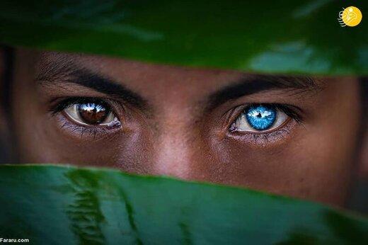 عکس/ قبیلهای با رنگ چشمانی عجیب!
