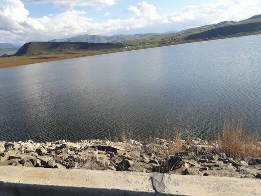 آبگیری سد گیلارلو شهرستان گرمی