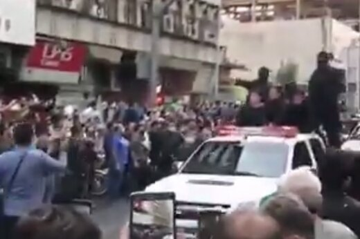 ببینید | گرداندن موبایلقاپها مقابل پاساژ علاءالدین در تهران