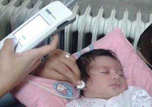 غربالگری شنوایی بیش از ۴هزار نوزاد در قزوین