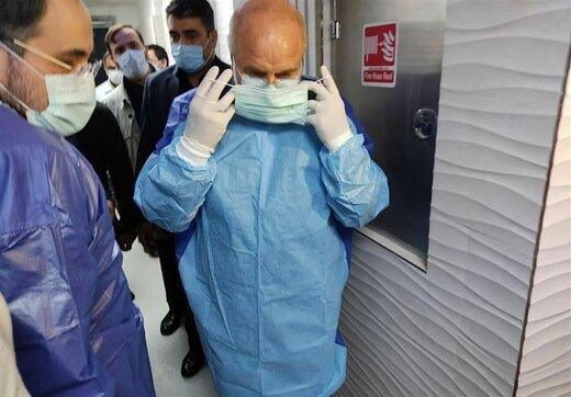 واکنش قالیباف به حواشی لغو جلسه سران قوا و حضورش در بخش بیماران کرونایی