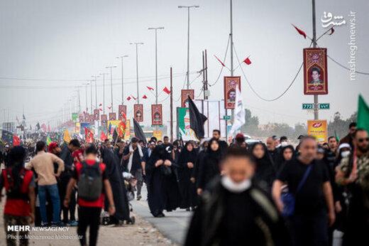 ببینید | حرکت زیبای خبرنگار عراقی به نیابت از ایرانیها در آستانه اربعین حسینی