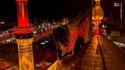 نمایی زیبا از گنبد حرم حضرت اباالفضل(ع) / عکس