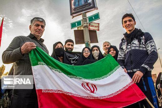 دلدادگان حسینی از سراسر جهان در پیاده روی اربعین