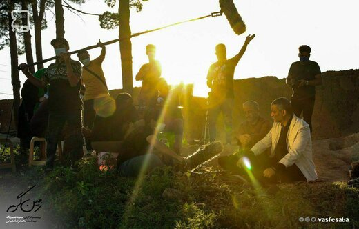 پشت صحنه «زمین گرم» در تلویزیون / عکس
