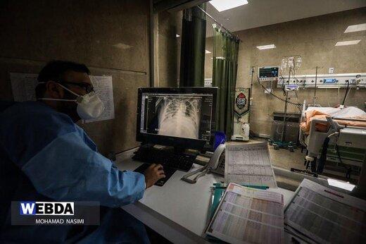 تصاویر تماشایی محمد نسیمی از بخش مراقبتهای ویژه کرونا: به تو از دور سلام