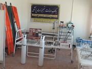 راه اندازی بانک امانات تجهیزات پزشکی در جمعیت هلال احمر کهگیلویه وبویراحمد همزمان با اربعین حسینی