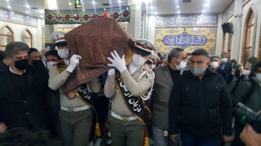 پیکر استاد شجریان به فرودگاه مهرآباد منتقل شد