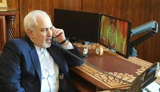 Zarif, British counterpart discuss JCPOA over phone