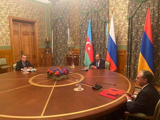 نشست وزرای آذربایجان، ارمنستان و روسیه پشت درهای بسته