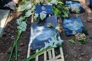 ببینید | آرامگاه ابدی «استاد شجریان» پس از خاکسپاری