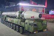 ببینید | رونمایی کره شمالی از بزرگترین موشک بالستیک قارهپیمای جهان