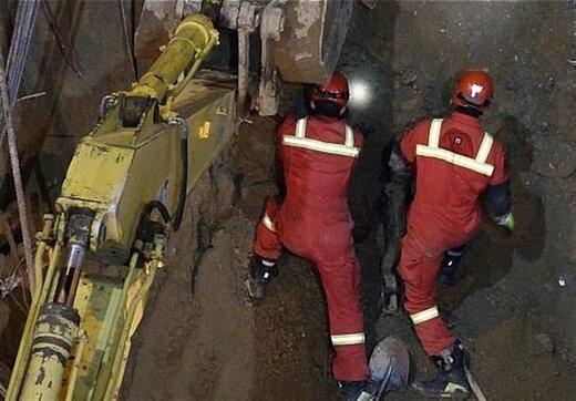 کشف اجساد در حادثه ریزش آوار خیابان فلاح/ تصاویر