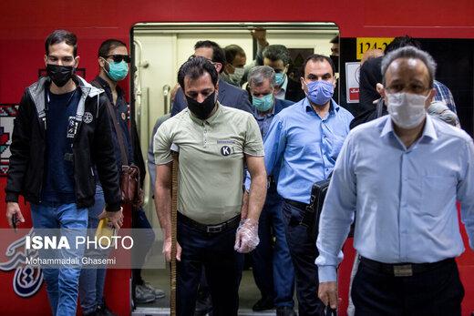 تهران در اولین روز اجباری شدن ماسک