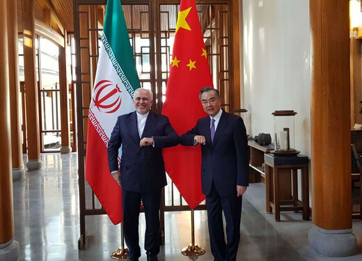 Zarif reviews regional, int'l developments with Chinese Counterpart
