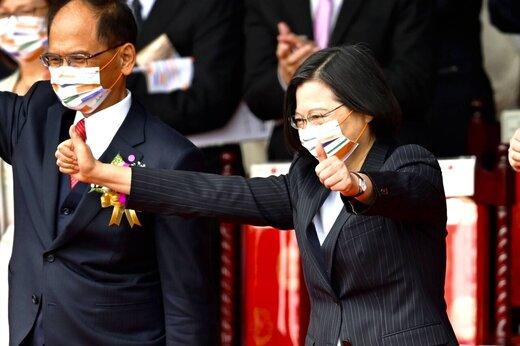 تغییر موضع ناگهانی رهبر تایوان و تاکید بر کاهش تنشها با چین