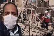 ببینید | ۲ کشته در انفجار گاز بازارچه عامری اهواز