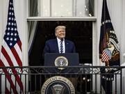 تصاویر | اولین سخنرانی ترامپ برای هوادارانش پس از ابتلا به کرونا