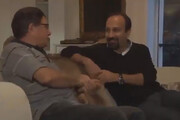 ببینید | واکنشهای خاطرهانگیز فرهادی و زندهیاد شجریان حین تماشای مسابقه ایران و بوسنی
