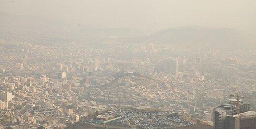 آلودگی هوا به تهران بازگشت/ شاخص