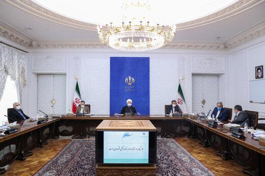 روحاني يدعو الى تجاوز الروتين الإداري من اجل تسهيل التجارة مع دول الجوار