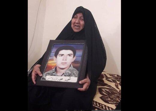 بازگشت پیکر شهید علی ایزدیان پس از ۳۸ سال به وطن