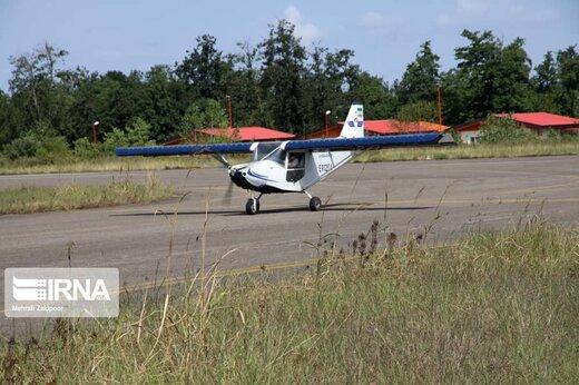 یک هواپیمای آموزشی تکسرنشین در شهرکرد دچار حادثه شد