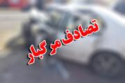تصادف مرگبار خودروی سه کارمند میراث فرهنگی در حین ماموریت/ تصاویر