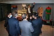 رئیس فدراسیون کشتی صربستان از موزه ملی ورزش، المپیک، پارالمپیک دیدن کرد