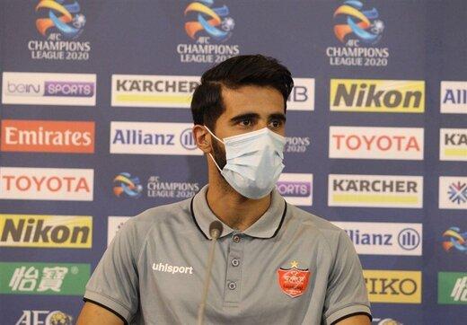 بشار رسن در تمرین تیم عراقی حاضر شد/عکس