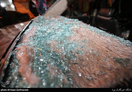 کسانی که شیشه خودرو را در تهران می شکستند بازداشت شدند