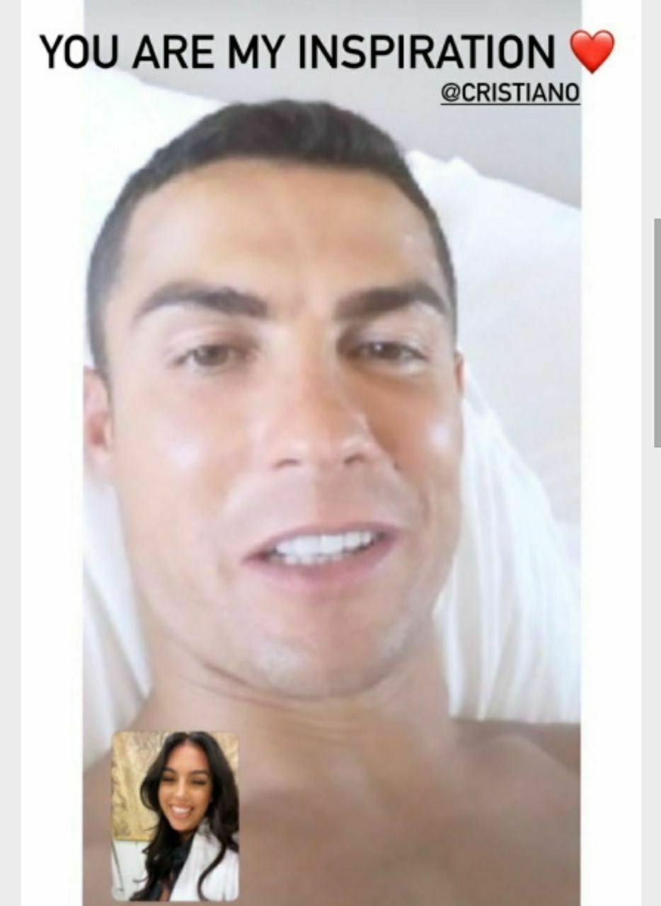 اولین تصویر رونالدو پس از ابتلا به کرونا/عکس