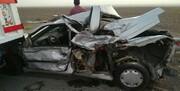 تصادف مرگبار کامیون و مینی بوس