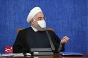ببینید   ماسک متفاوت رئیس جمهور در جلسه امروز هماهنگی اقتصادی دولت