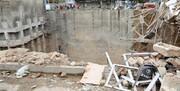 مرگ دو تهرانی در ریزش ساختمانی در نزدیک یک گودال بزرگ
