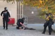 ببینید | قتل در روز روشن؛ شلیک بیرحمانه نیرو امنیتی به مردم