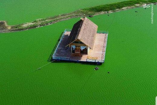 عکس/ دریاچه متحرک ایران