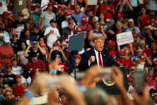 ببینید | ترامپ در جمع هوادارانش در پنسیلوانیا: سوپرمن هستم