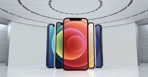 آیفون ۱۲ با تکنولوژی5G و در پنج رنگ معرفی شد