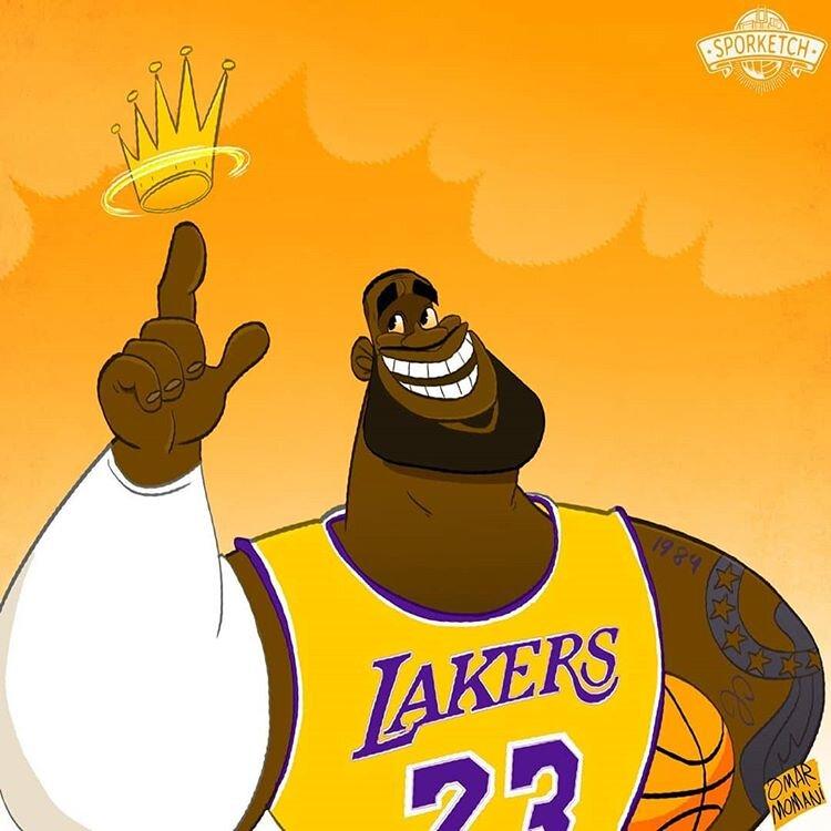 اینم پادشاه بسکتبال!
