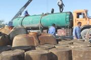 ببینید | نحوه ارسال سوخت به افغانستان و پاکستان از زبان قاچاقچیان