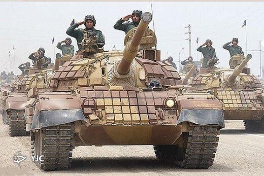 این فناوری نظامی؛ قدرت زرهی نیروهای مسلح ایران را به رخ جهان کشید /تفاوت تانک سفیر ۷۴ با تانک تی ۵۵ +عکس