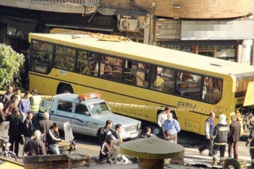 ببینید | ورود مرگبار اتوبوس به داخل مغازه در مشگینشهر