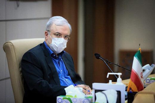 نگرانی از خیز جدید کرونا در بهمن و اسفند از زبان وزیر بهداشت