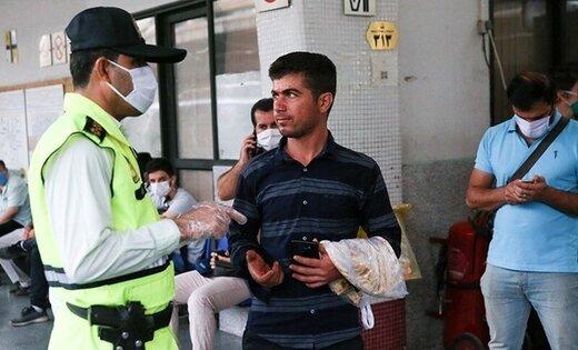 پلیس از امروز با کسانی که ماسک نمیپوشند برخورد میکند