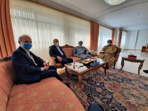 دعوت رسمی از سفیر عمان برای سفر به قشم