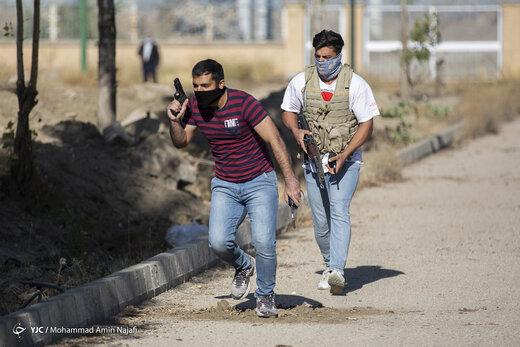 مانور پدافندی مقابله با عملیات تروریستی در مراکز حیاتی - همدان