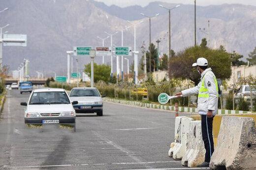 ببینید | رضایت پلیس راه کشور از رعایت محدودیتهای تردد